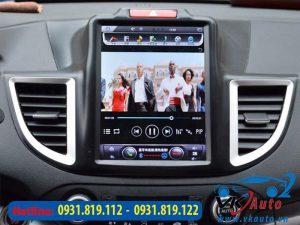 màn hình android dvd xe honda crv