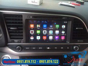 Báo giá lắp Màn hình Android DVD ô tô Hyundai Elantra tại TP HCM