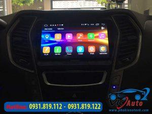 đầu màn hình android xe santafe
