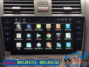 Lắp Đặt Đầu Màn Hình Android Xe Toyota Camry