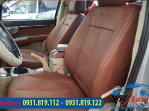 may ghế da cho xe Hyundai Santafe