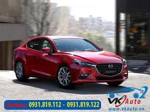 Dán phim cách nhiệt xe Mazda 3