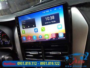 màn hình android cho xe toyota vios