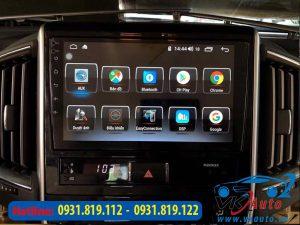 Dịch vụ lắp đặt đầu màn hình DVD android cho xe TOYOTA LANDCRUISER