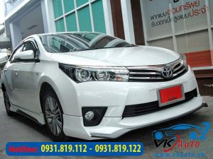 độ body kit altis