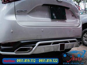 ốp cản sau xe Mazda CX5 2018, 2019