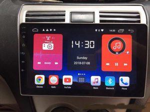 màn hình android xe wigo