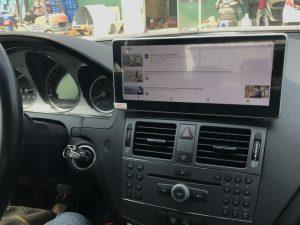 Màn hình DVD android 4G cho xe Mercedes C250